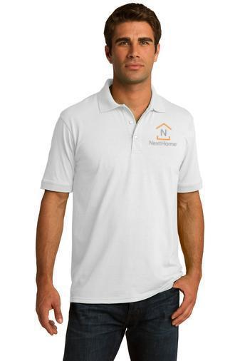 Custom Embroidered Port & Company Polos - KP55
