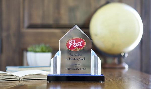 Corporate Gift Item - Custom Acrylic Jewel Post Award