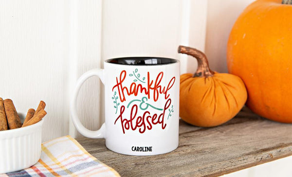 Personalized Fall Coffee Mugs