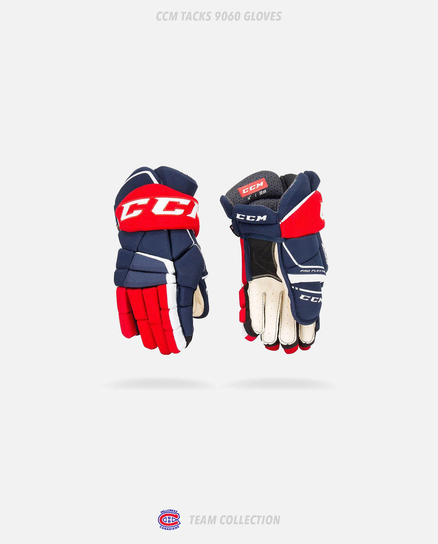 Hillcrest Canadiens CCM Tacks 9060 Gloves - Hillcrest Canadiens Team Collection
