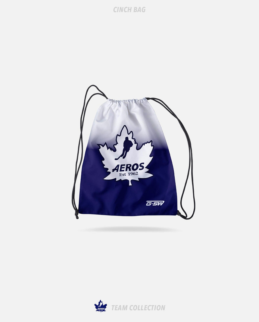 Toronto Aeros Cinch Bag - Toronto Aeros Team Collection