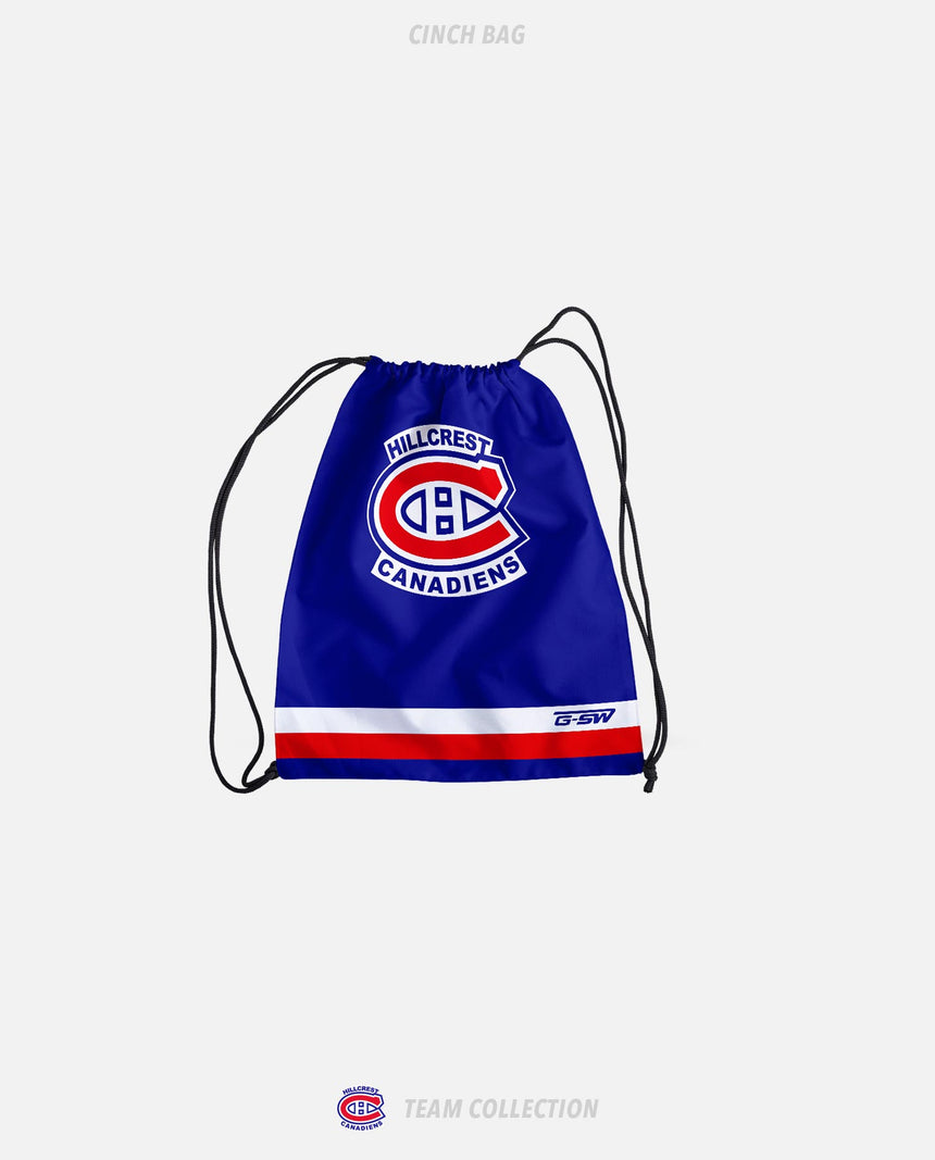 Hillcrest Canadiens Cinch Bag - Hillcrest Canadiens Team Collection