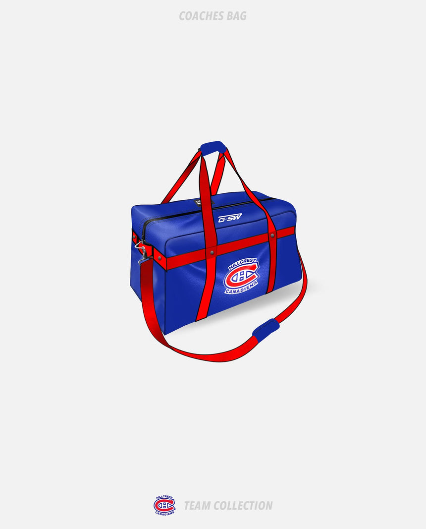 Hillcrest Canadiens Coaches Bag - Hillcrest Canadiens Team Collection