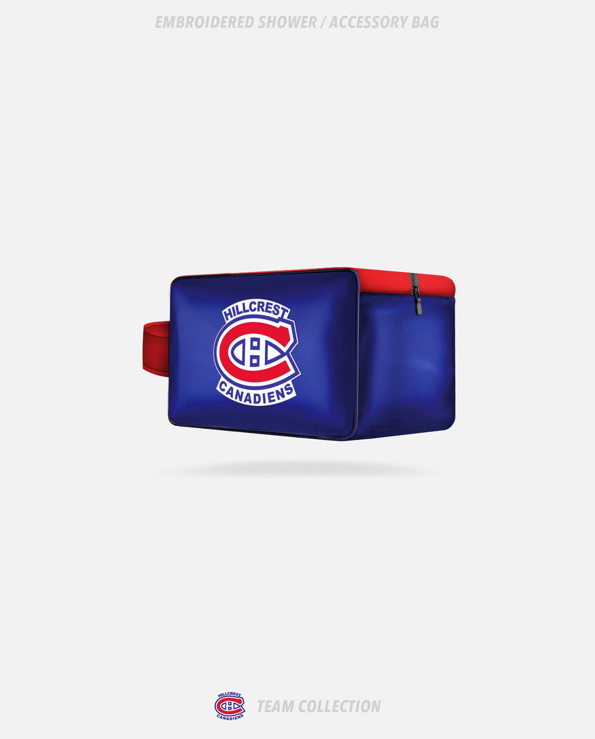 Hillcrest Canadiens Sublimated Shower/Accessory Bag - Hillcrest Canadiens Collection