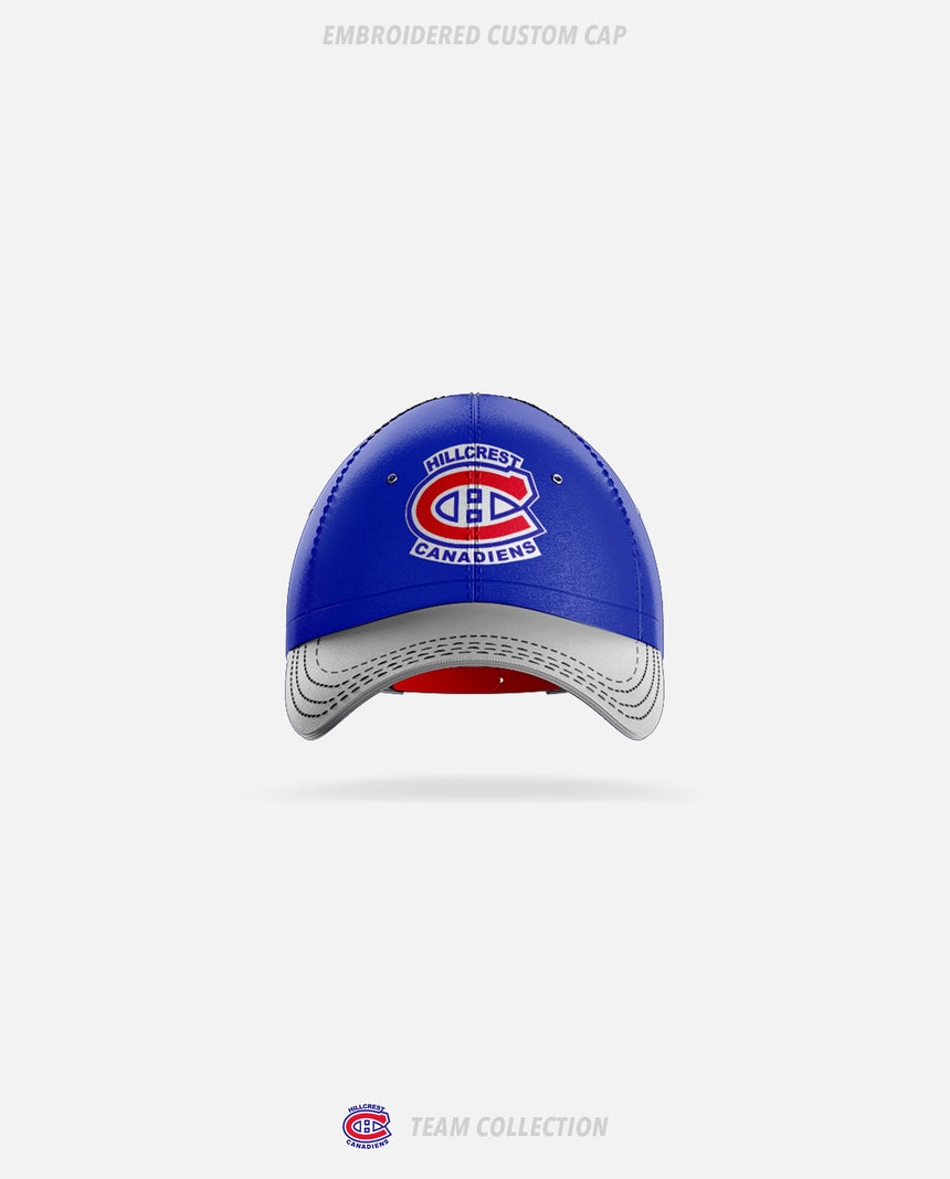 Hillcrest Canadiens Embroidered Custom Cap - Hillcrest Canadiens Team Collection