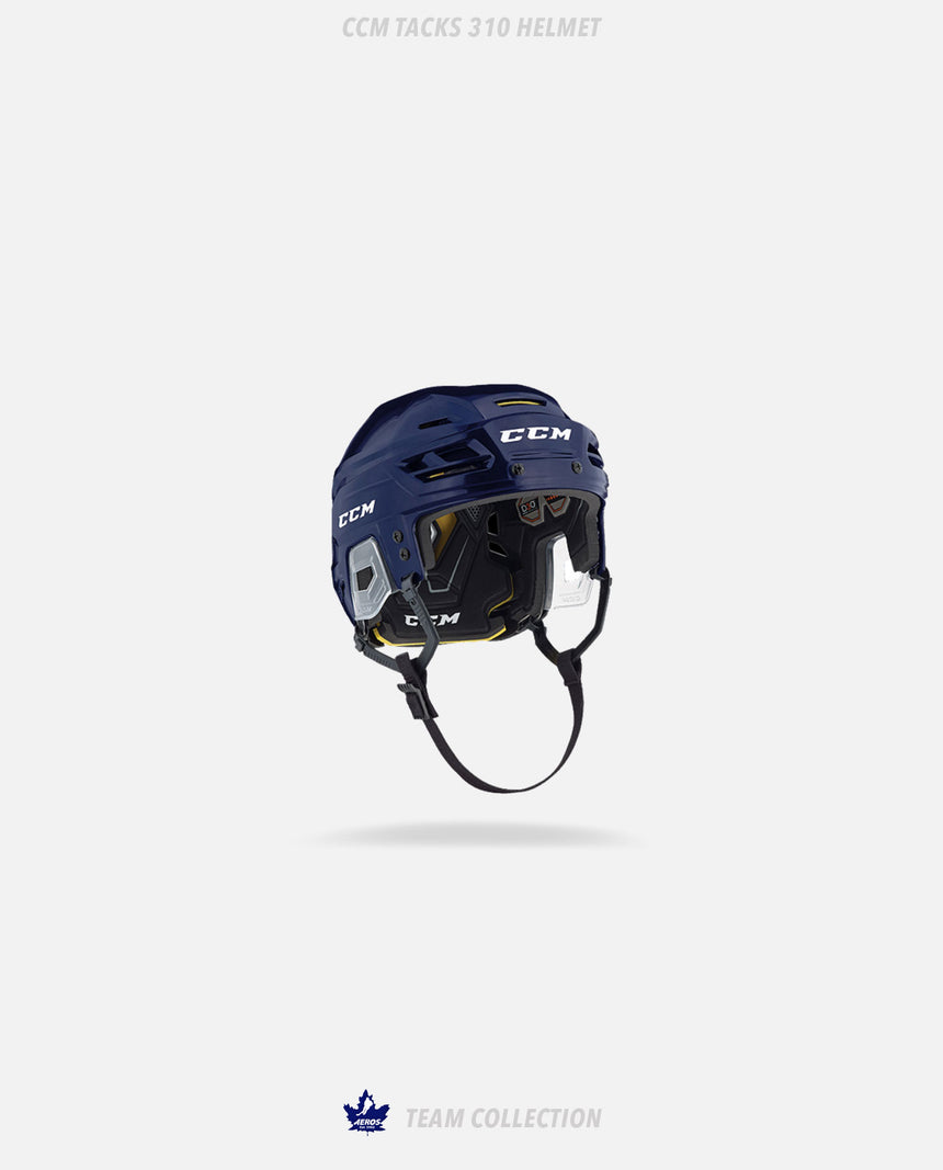 Toronto Aeros CCM Tacks 310 Helmet - Toronto Aeros Team Collection