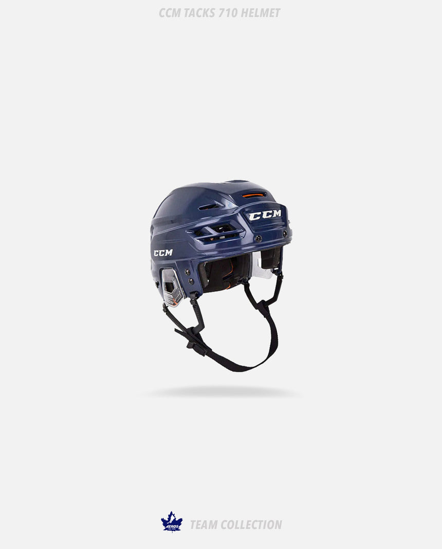 Toronto Aeros CCM Tacks 710 Helmet - Toronto Aeros Team Collection