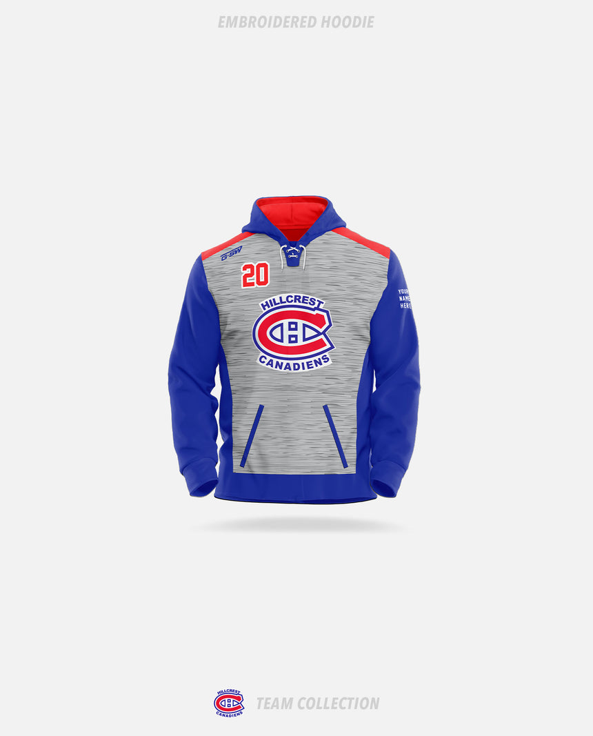 Hillcrest Canadiens Embroidered Hoodie - GSW Team Collection