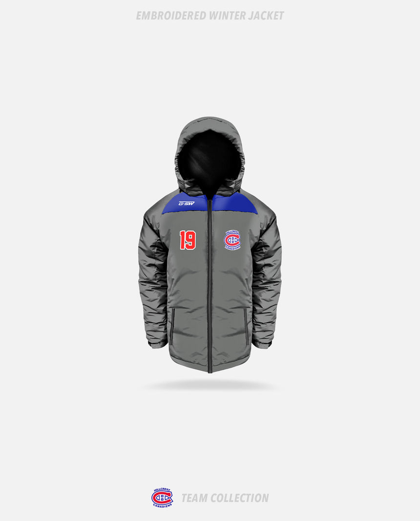 Hillcrest Canadiens Embroidered Winter Jacket - Hillcrest Canadiens Team Collection