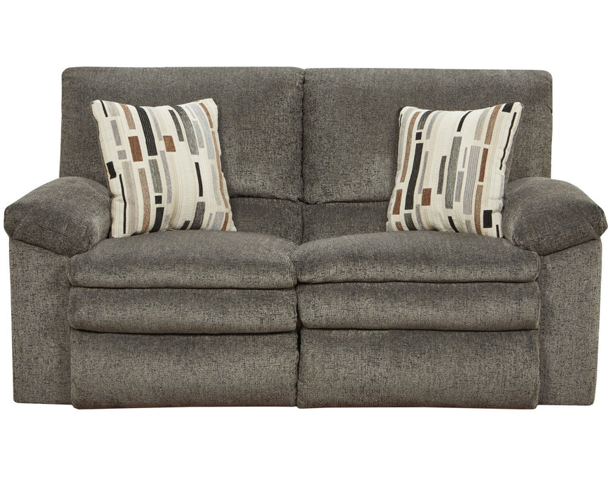 Catnapper Furniture Tosh Reclining Loveseat in Pewter/Caf�� 1272/1405-38/2500-29
