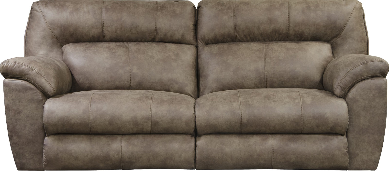 "Catnapper Hollins 88""Power Reclining Sofa in Coffee 62651/1429-49/0-0"