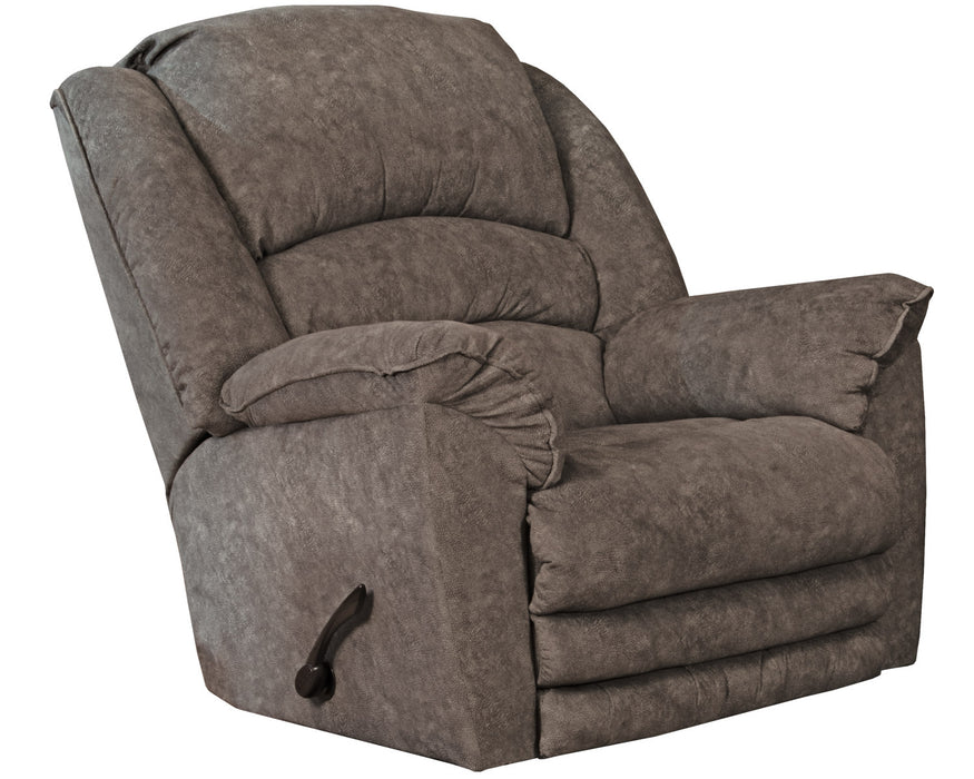 Catnapper Rialto Chaise Rocker Recliner in Steel 4775-2