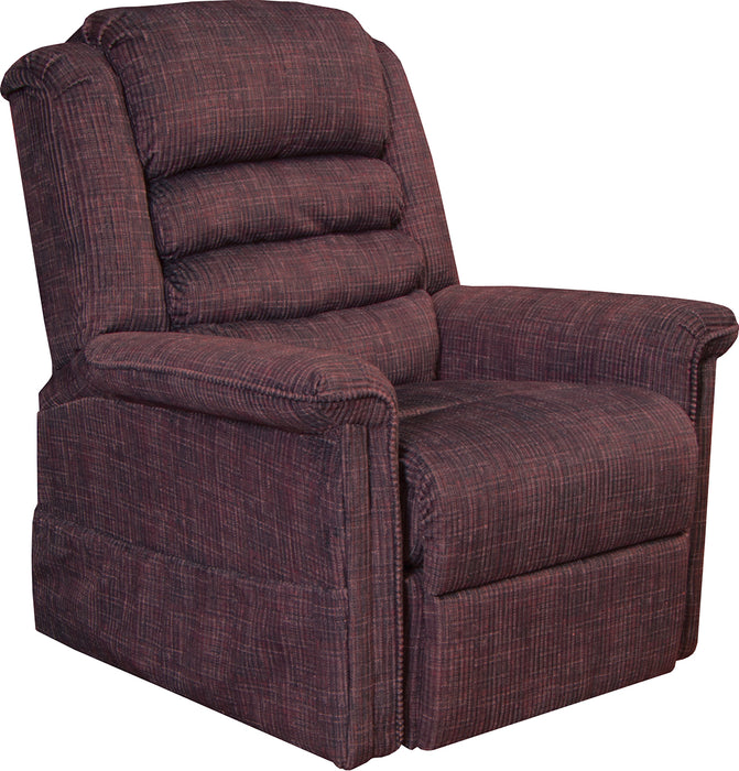 Catnapper Furniture Soother Power Lift Recliner in Wine 4825/2001-34
