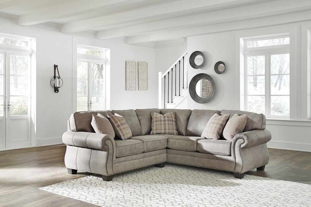 Olsberg Signature Design by Ashley 2-Piece Sectional
