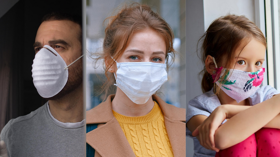 The difference between N95, surgical masks and cloth masks