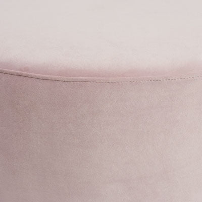 Melrose Ottoman Dusty Pink