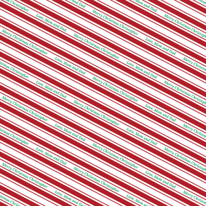 Candy Stripe Mini - Red