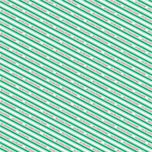 Candy Stripe Mini - Green