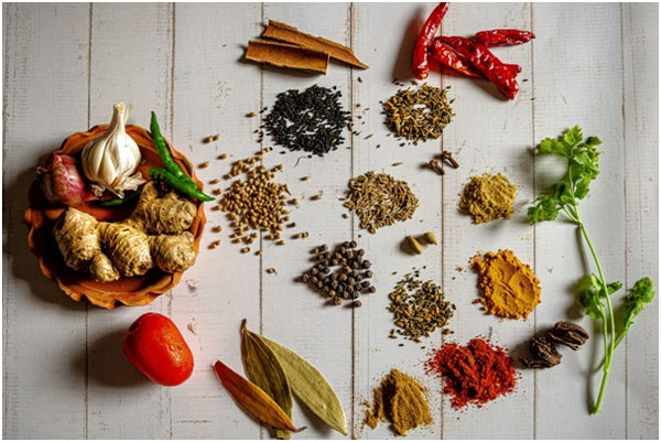 5 herbs/spices