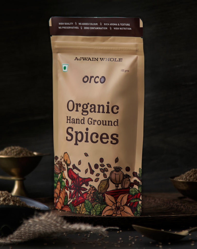Organic Ajwain - orcospices