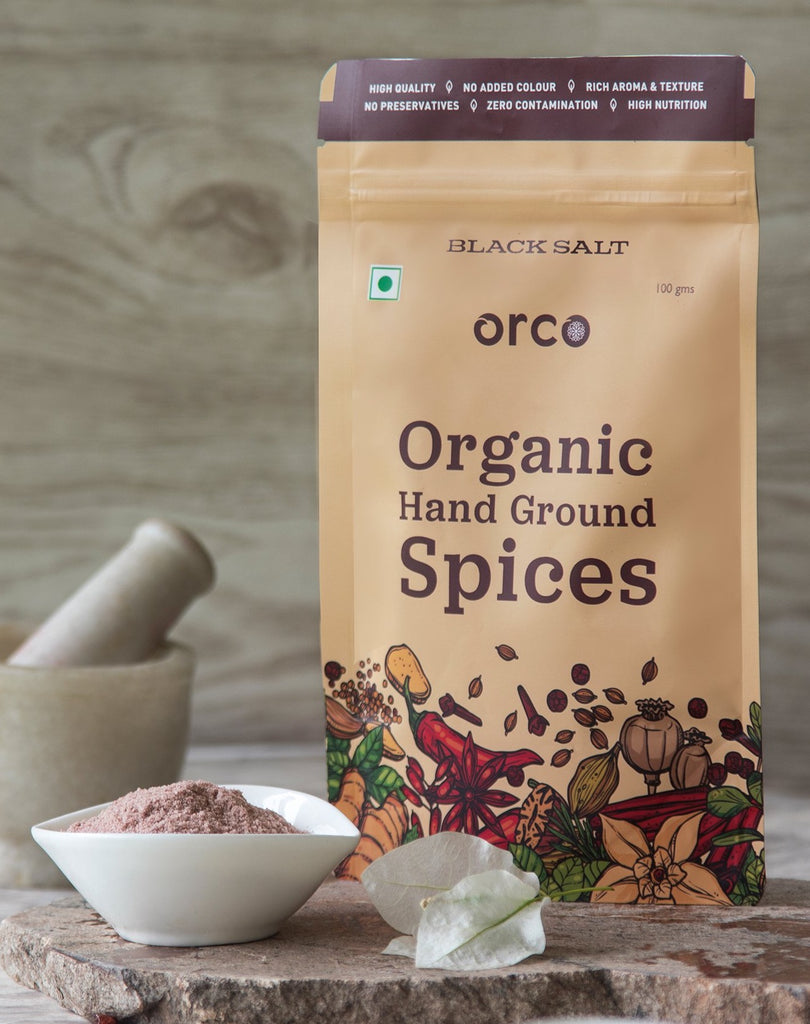 Natural Black Salt - orcospices