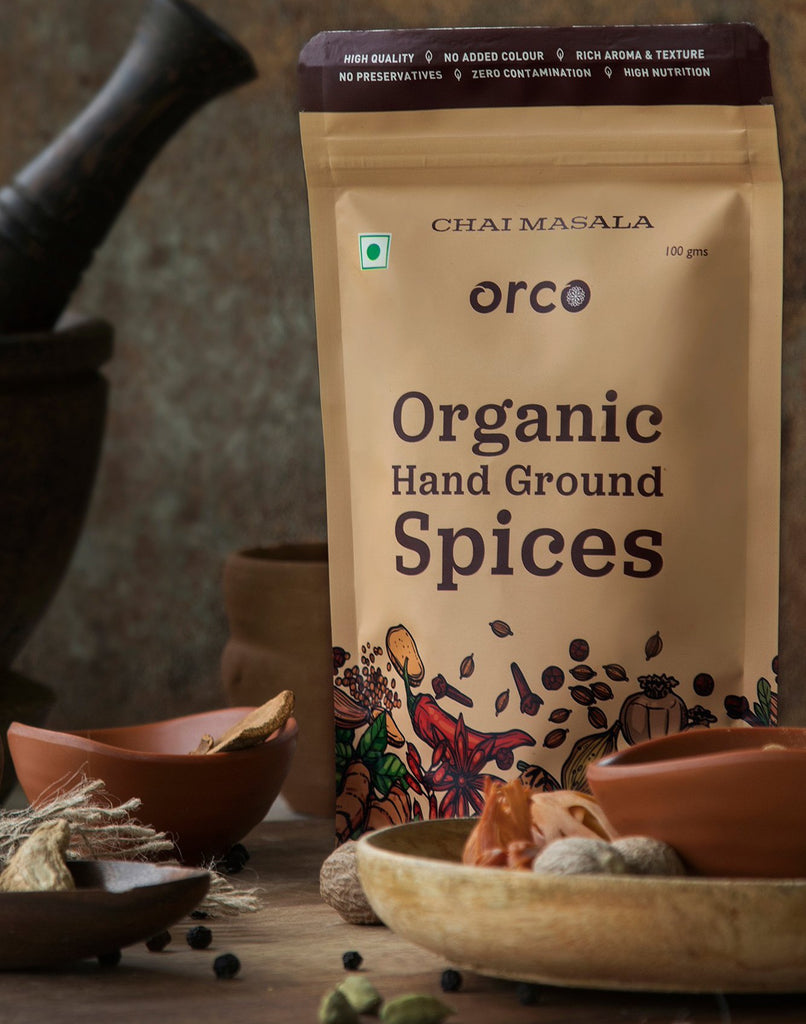 Organic Chai Masala - orcospices