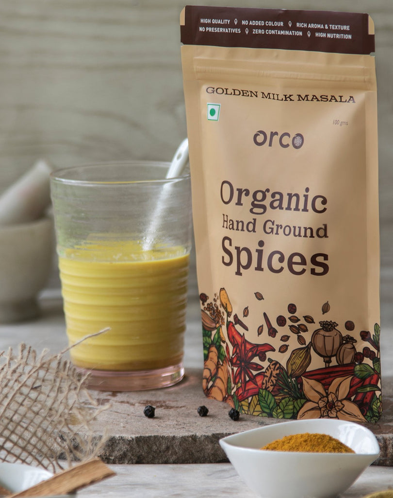 Organic Golden Milk Masala - orcospices