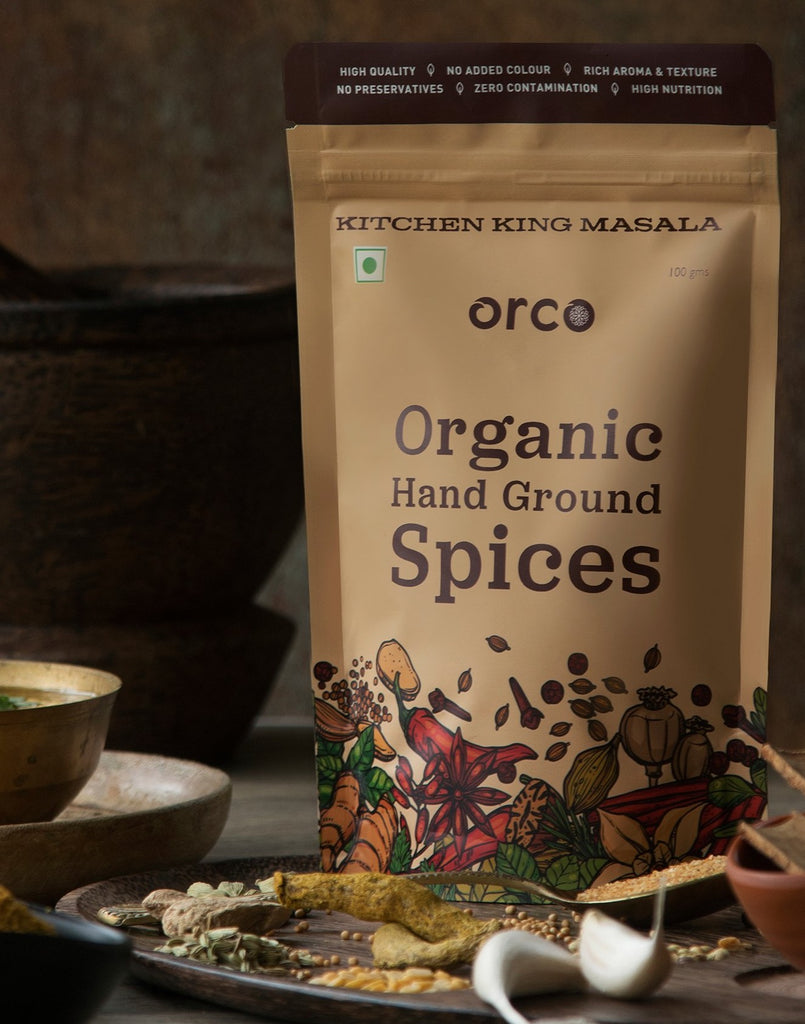 Organic Kitchen King Masala - orcospices