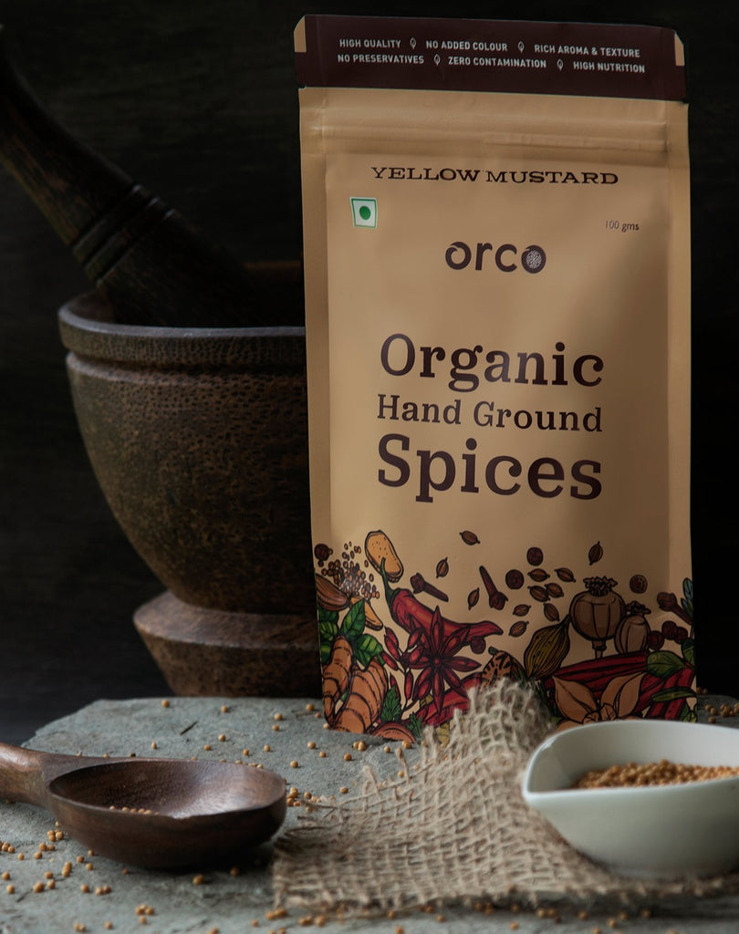 Organic Yellow Mustard - orcospices