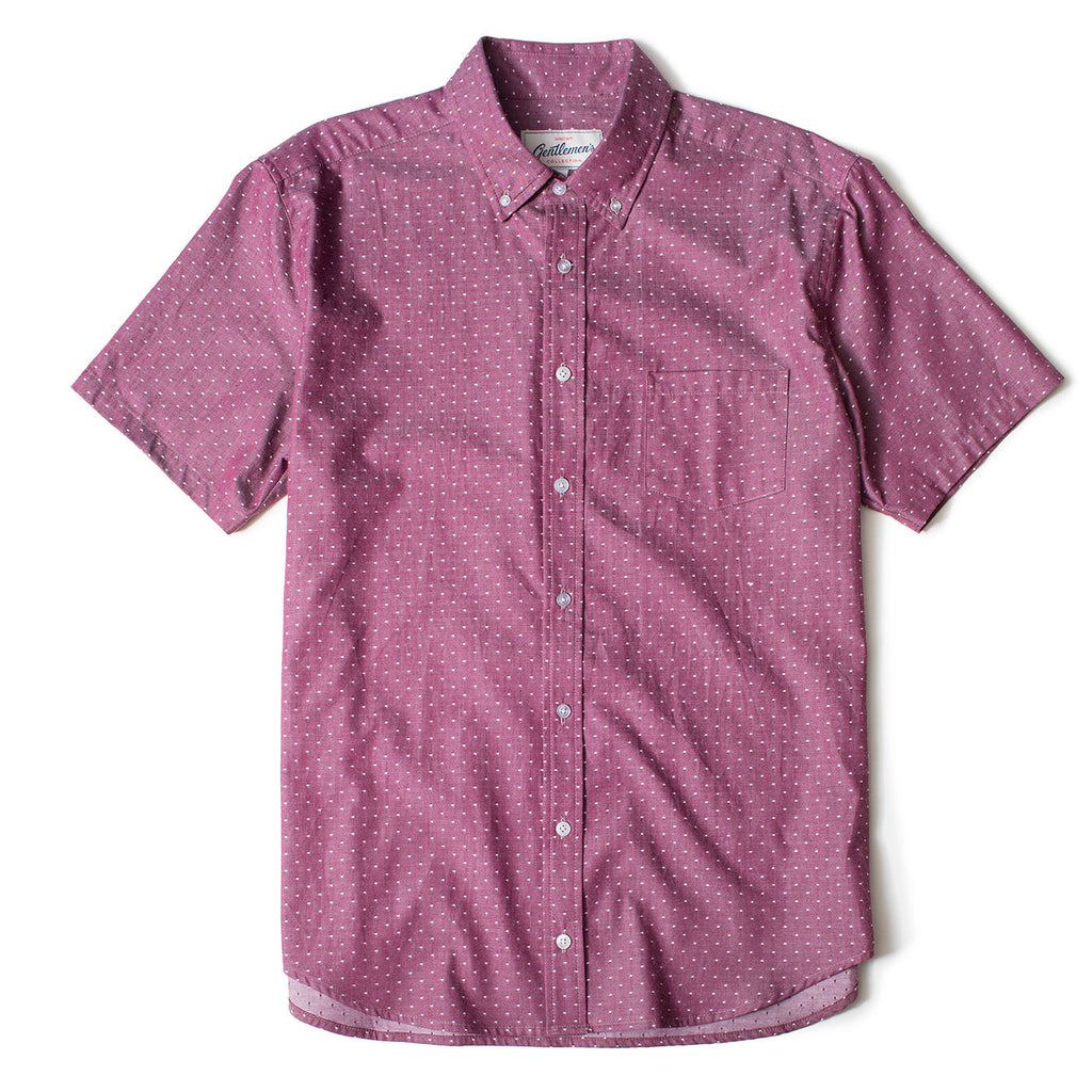 Dots Short Sleeve Oxford