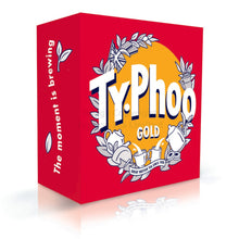 Load image into Gallery viewer, Typhoo Tea Gold Blend - 80 Teabags