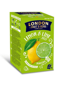London Fruit & Herb Lemon & Lime Zester - 20 Teabags