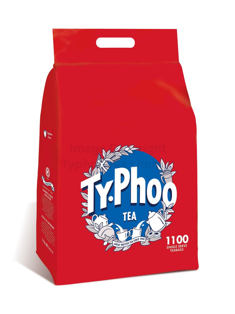 Typhoo One Cup Tea - 1100 Teabags
