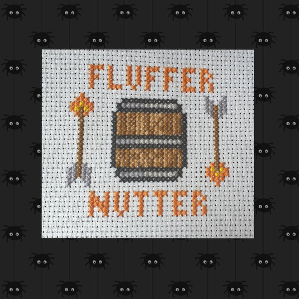 FLUFFERNUTTER! - Critical Role Cross Stitch