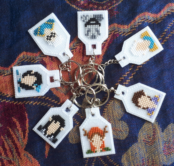 Vox Machina Keyrings