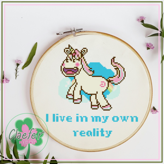 Derpy Unicorn - Create your own reality / I live in my own reality