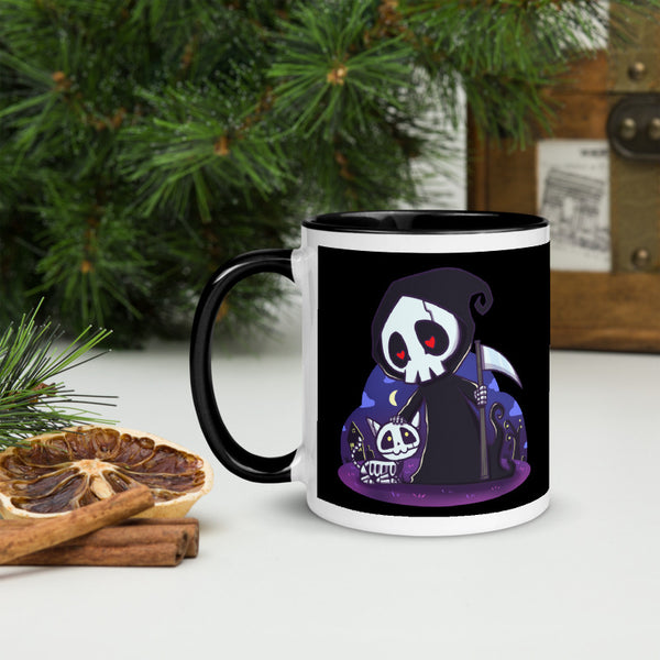 Death and Cats Mug