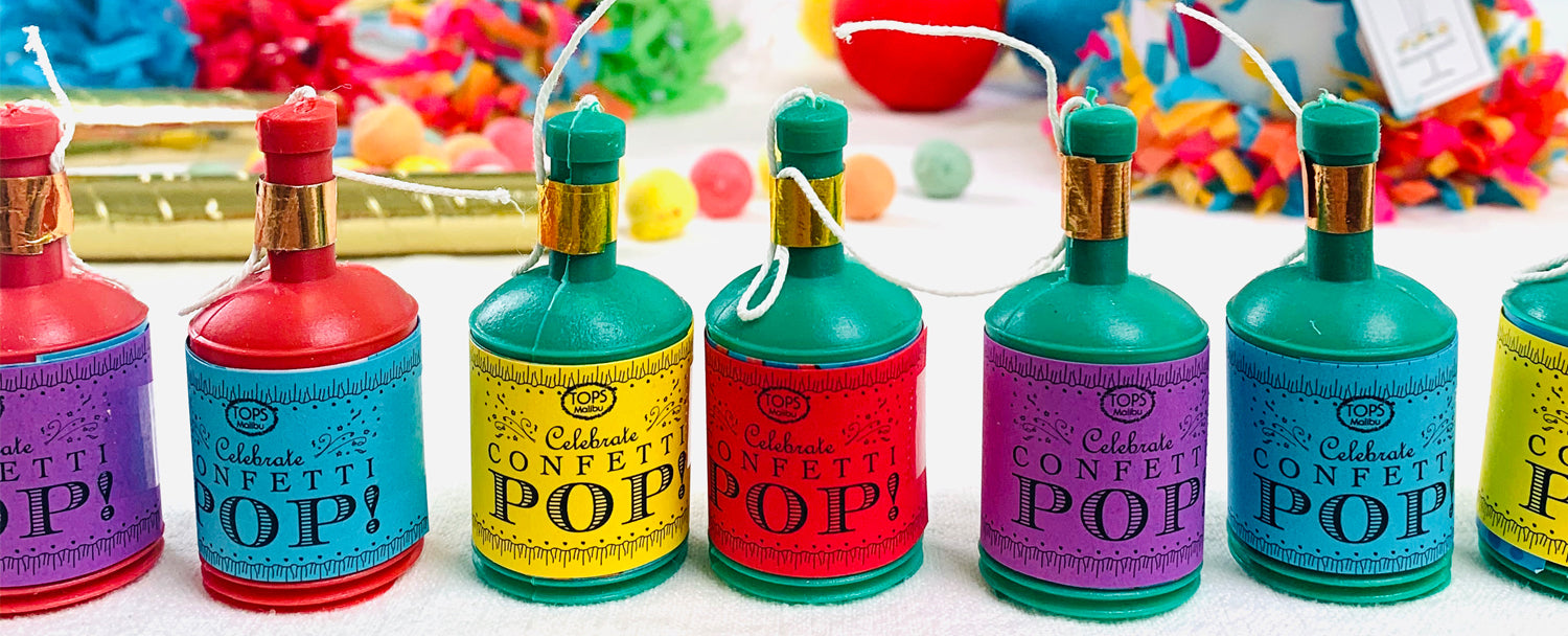 Splendid Party - TOPS Malibu - Party Favors, confetti, pinata, candles, pennants, decor