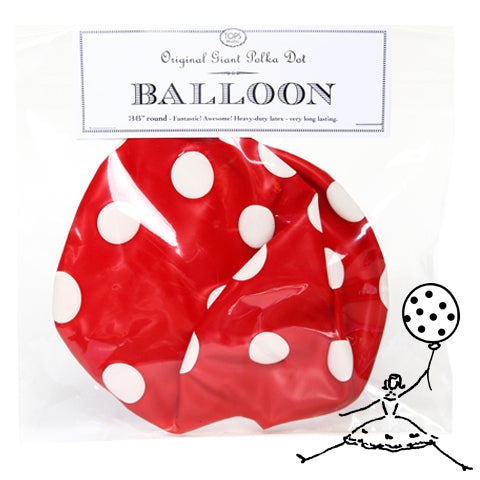 "36"" Original Giant Polka Dot Balloon - TOPS Malibu"