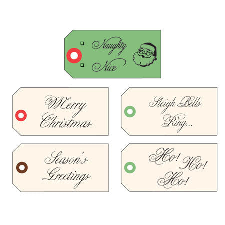 Holiday Calligraphy Tags - Large - TOPS Malibu