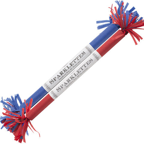 "Sparklettes Red White & Blue 8"" - TOPS Malibu"
