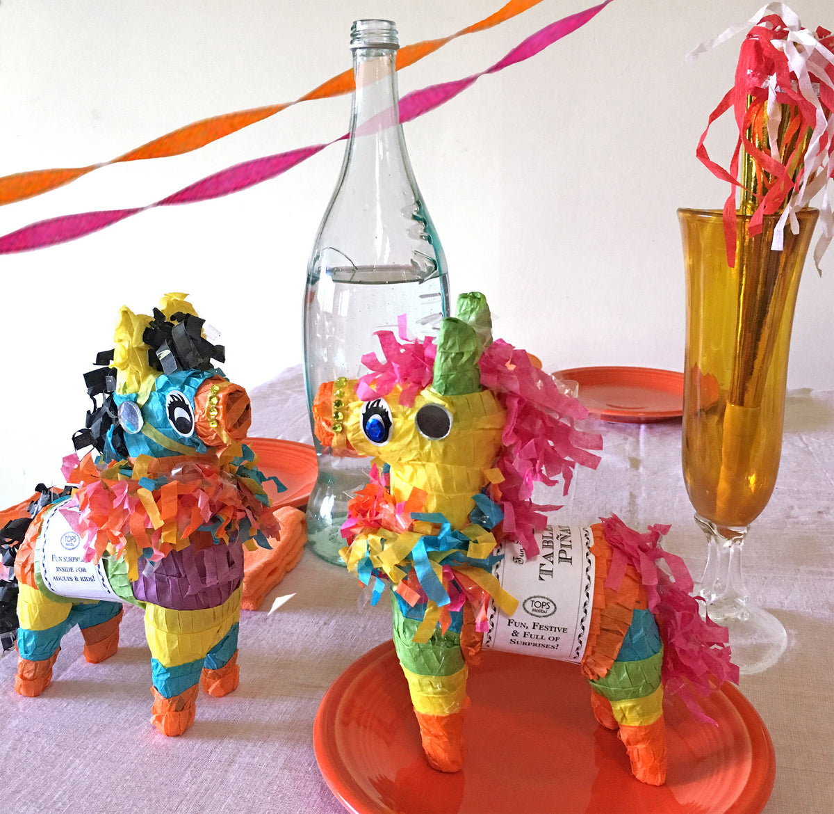 Mini Tabletop Pinata with 6 Prizes - TOPS Malibu