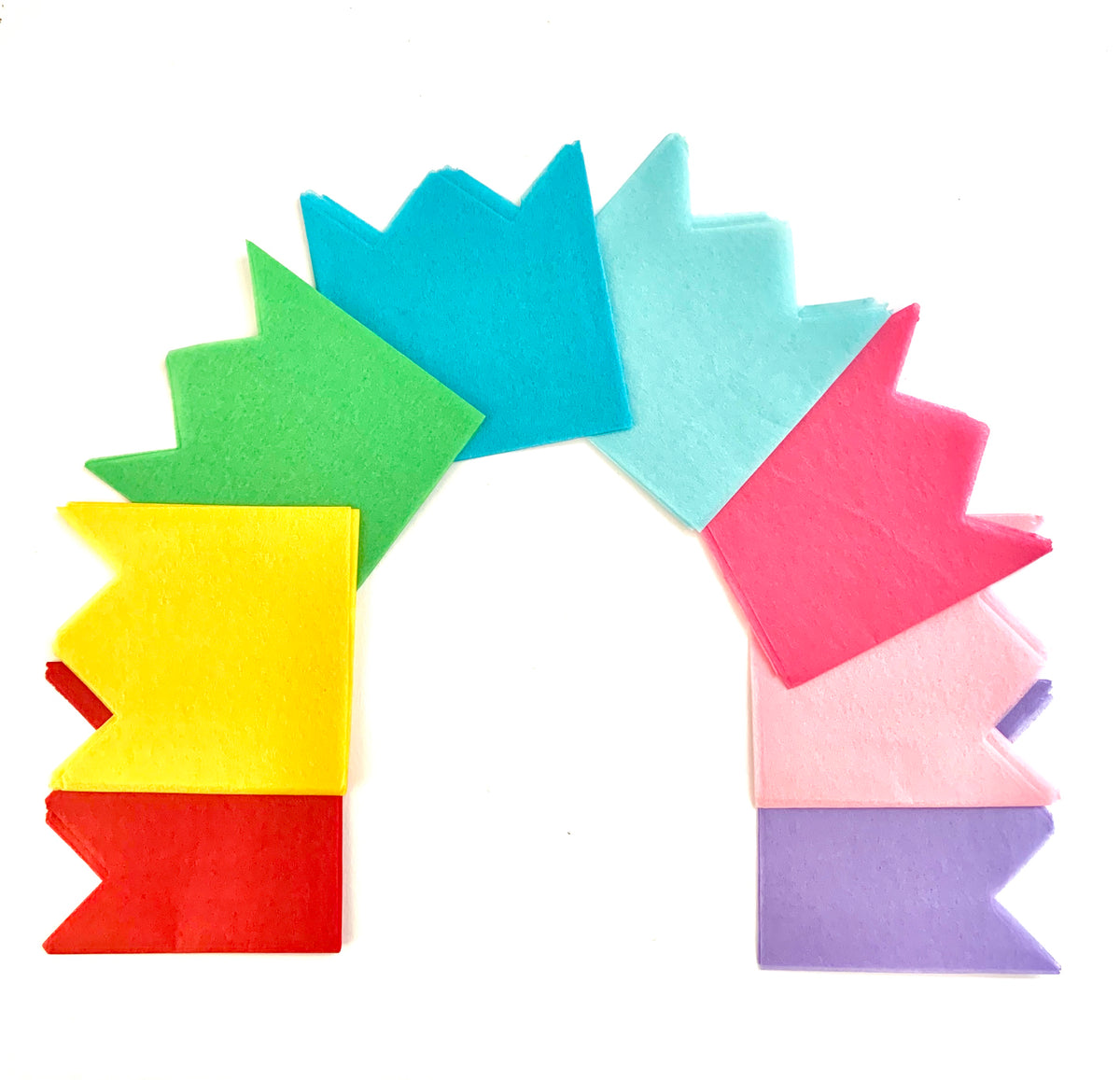 Metallic Paper Crowns Assorted Colors