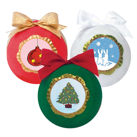 Deluxe Surprize Ball® Christmas 4""