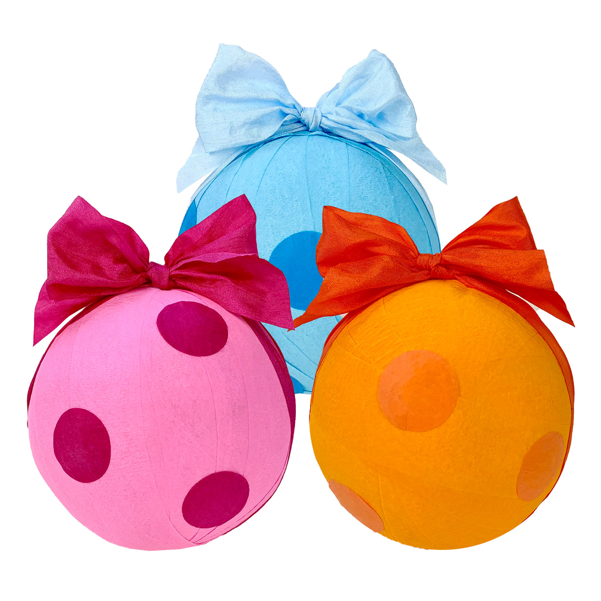 Deluxe Polka Dots Surprize Ball 4""