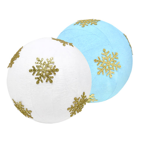 Deluxe Glitter Snowflake Surprize Ball