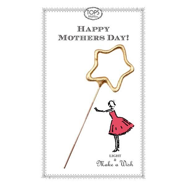 Happy Mother's Day Sparkler Card