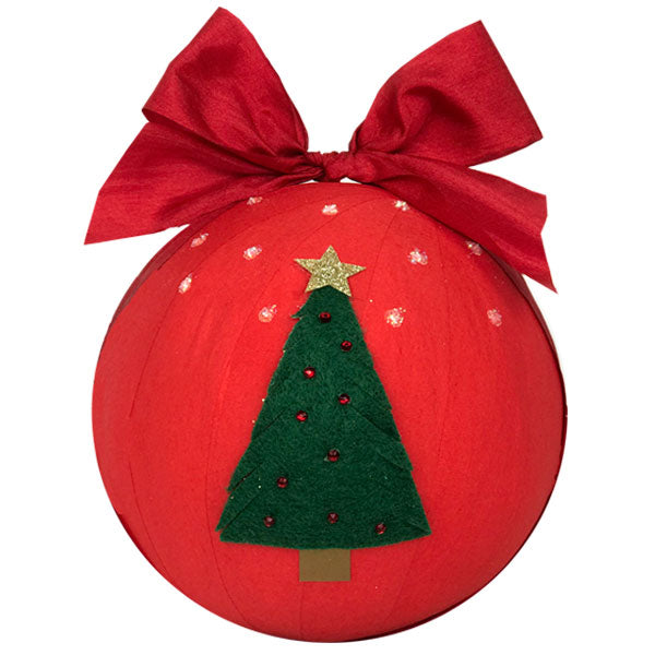 GIANT Surprize Ball Christmas Tree - 6""