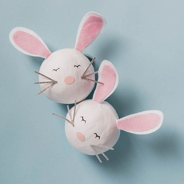 Deluxe Surprize Ball Bunny with Felt Ears 4""