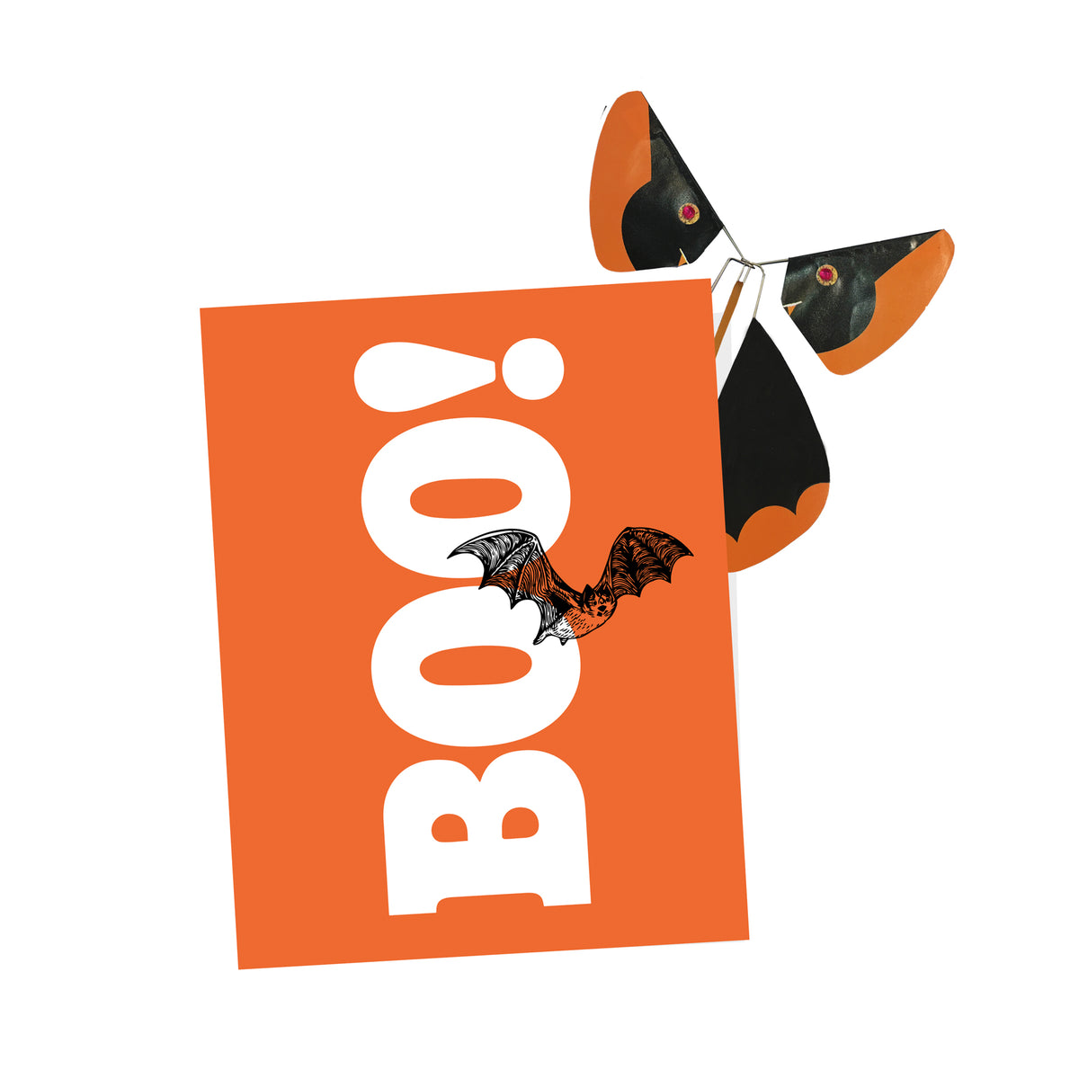 Halloween Card w/ Magic Butterfly®